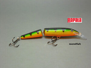 YP Yellow Perch Rapala Wobbler Jointed Floating 13cm J-13