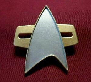 Star Trek PICARD Communicator Pin Combadge Com Badge Uniform Costume Cosplay