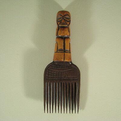 29374) Afrikanischer Kamm Yoruba Nigeria Afrika Kunst