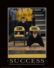 Iowa Hawkeye Wrestling Motivational Poster Art Shoes Tom Terry Brands MVP65