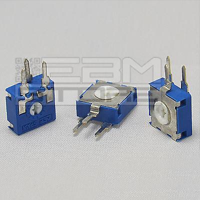 3 pz Trimmer verticali 220 Kohm 10x10mm ART. T011