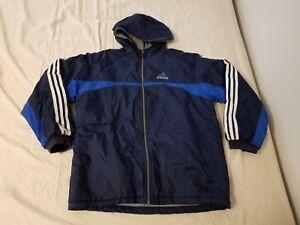 Details about Adidas 3 Stripe Cuba M Retro Vintage Jacket Coat
