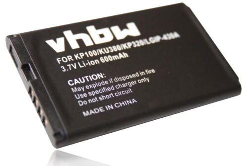Original VHBW ® batería para LG kp-100 kp-105 kp-106 170 Ruby Batería Acu.