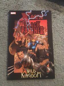 X-Men BLACK PANTHER WILD KINGDOM GRAPHIC NOVEL-TPB*OOP  RARE-STORM