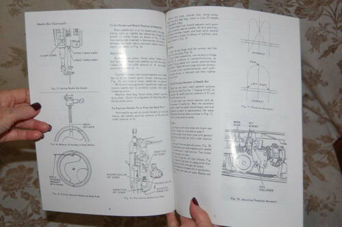 Factory Authorized Service Manual for Singer 347 and 348 Sewing Machines
