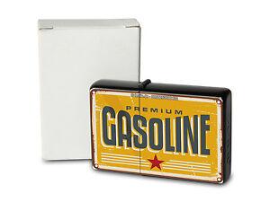Pocket Windproof Lighter Brushed Oil Refillable Gasoline