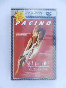VHS-Video-Kassette-Sea-of-love-Melodie-des-Todes-Al-Pacino-Ellen-Barkin