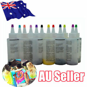 12-Colour-Bottle-Tie-Dye-Kit-40-Rubber-Band-4-Pairs-Vinyl-Gloves-DIY-Kit-UEE