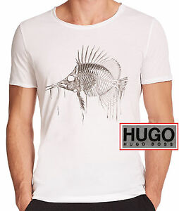 fed3edec0 NWT Hugo Boss HUGO Red Label LOGO Crew Neck Lightweight Luxury T ...