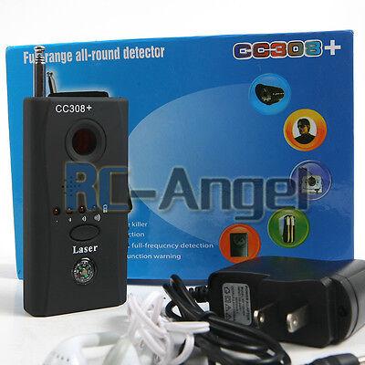 Full Range Wireless Camera Cell Phone GPS Spy Bug RF Signal Detector Finder