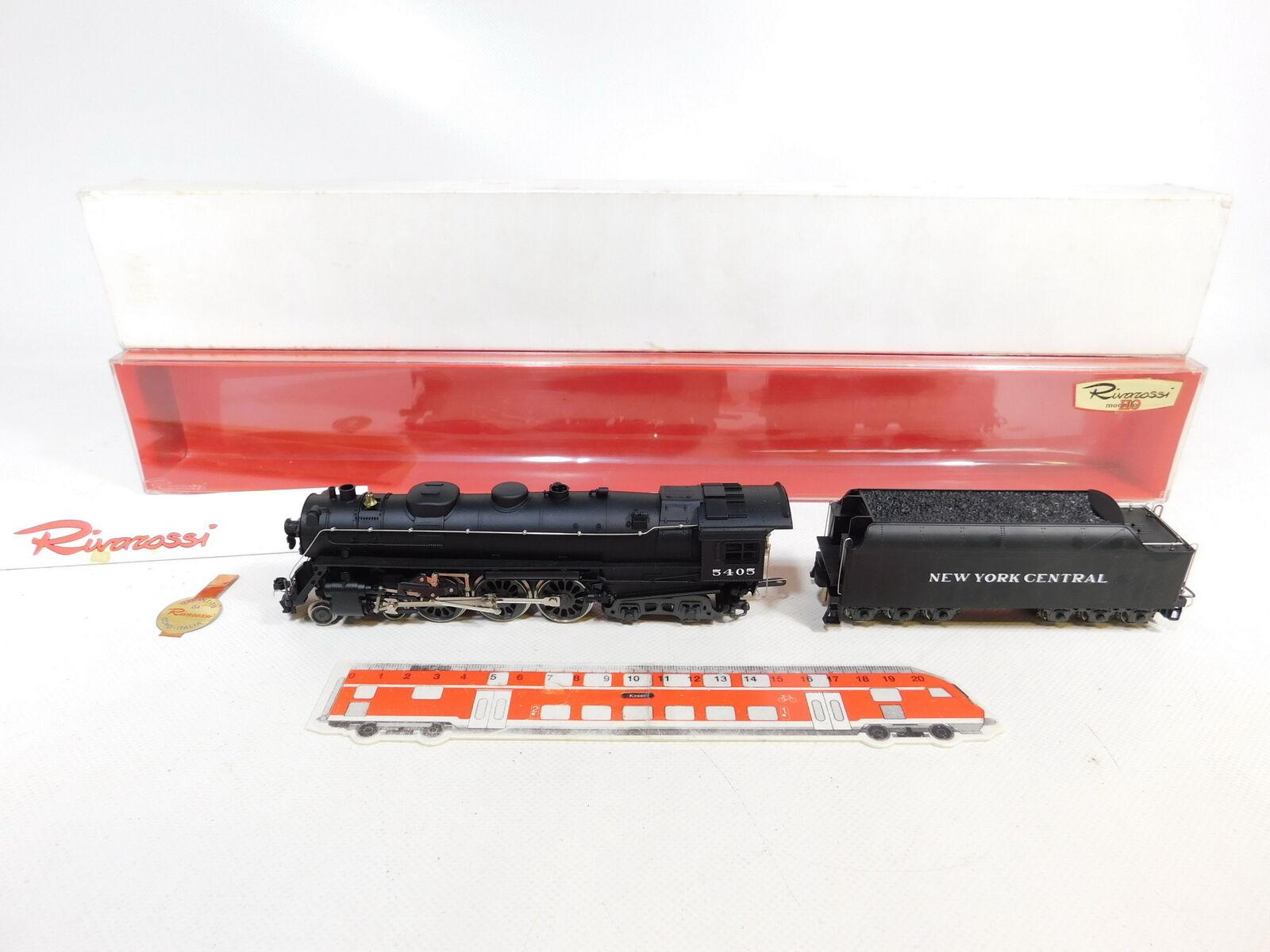 Ce266-2  Rivarossi h0 dc 1252 us-máquina de vapor Hudson 5405 New York Central, Neuw + embalaje original