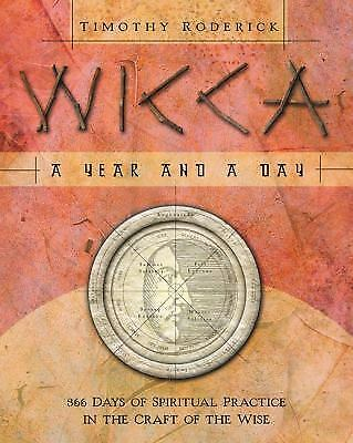 Wicca: A Year and a Day Daily Book ~ Wiccan Pagan Metaphysical Supply