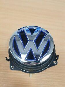 Genuine-Volkswagen-Golf-7-GTE-Emblem-Boot-Tailgate-Handle-Blue