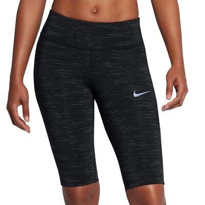 Femmes Nike puissance Épique Lux Demi Collants XS 855633 010 | eBay