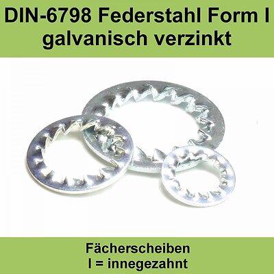 Baugewerbe Business & Industrie 13,0 Din 6798 Verzinkte Fächerscheiben Innengezahnte Innenverzahnte Form I J M12