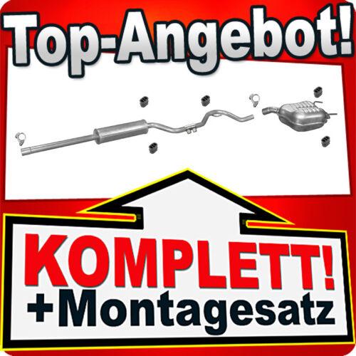 194 Auspuff FIAT CROMA 1.8 2.2 Auspuffanlage W13