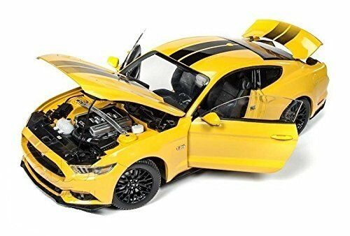 Auto World 1 18 18 18 2016 Ford Mustang GT Die-Cast Amarillo AW229 9d5e16