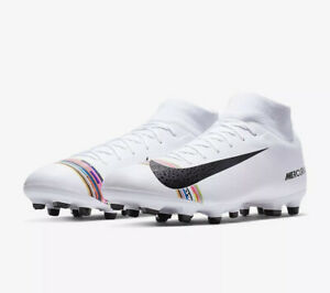 Fruta vegetales Parpadeo Gran universo  Nike Mercurial Superfly 6 Academy FG/MG AJ3541-109 White UK 7 EU 41 US 8  New | eBay