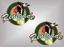 RENEGADE edition vinyl decals stickers Wrangler CJ 4x4 YJ TJ JK Rubicon limited