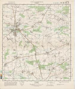 image is loading russian soviet military topographic maps grimmen germany ed