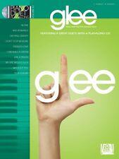 Glee Sheet Music Piano Duet Play-Along Book and CD NEW 000290590
