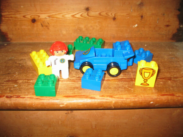 Duplo Lego Formule 1 Racing Car 2 Pilote Playfigure Tasse Assortis Construction Brique à Tout Prix