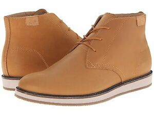 f9824e67fe0 Details about Lacoste Millard Chukka Leather Sneakers Shoes Tan Ankle Boots  Men Sz 9.5,10,11.5