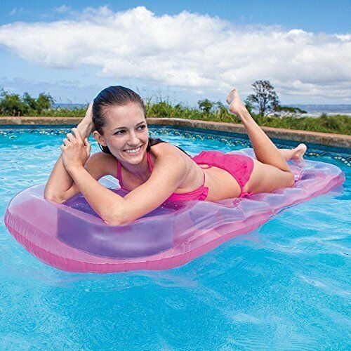 In Swimming Pool Float Giant Inflatable Floating Mat Inflatable Swimming Pool Lounger Fashionable Style;