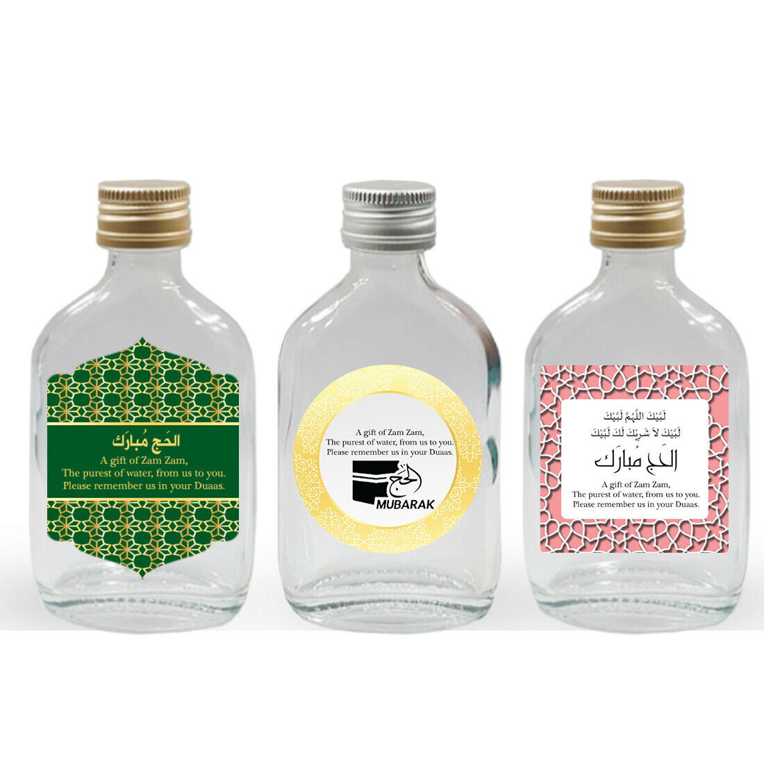 Zam zam Bottles Islamic Wedding Party Favors Umrah Hajj Bottles 1 To A 100 S7