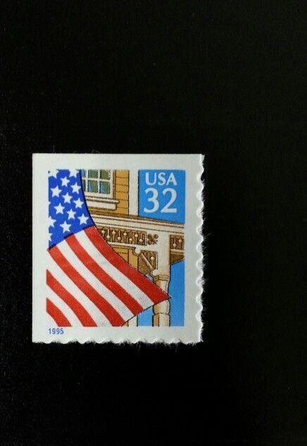 1995 32c Flag over Porch, SA Scott 2920 Mint F/VF NH