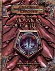Dungeons and Dragons Accessory: Monster Compendium : Monsters of Faerun by Rob Heinsoo, James Wyatt and Wyatt Heinson (2001, Paperback)