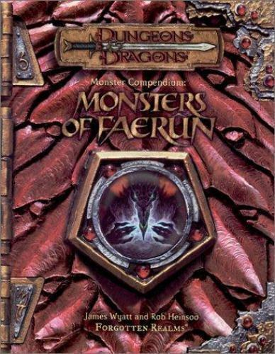 Dungeons & Dragons Monster Compendium Monsters Of Faerun Forgotten Realms #0424
