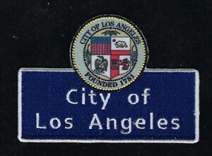 CITY-OF-LOS-ANGELES-CALIFORNIA-SHIELD-PATCH-PIN-Souvenir-HOLLYWOOD-BEVERLY-HILLS