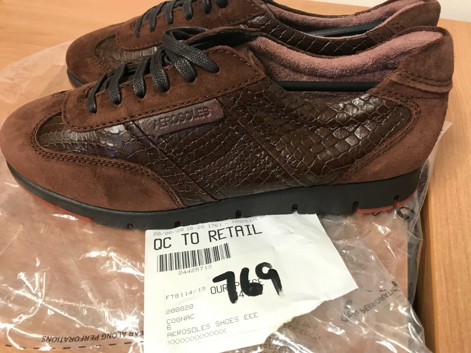 Aerosoles Shoes Wide EEE Fit in Cognac UK 6 (769)
