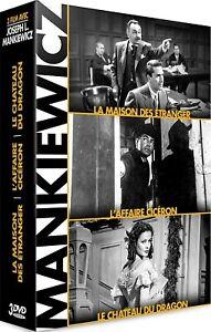 Joseph-L-Mankiewicz-COFFRET-3-DVD-NEUF-SOUS-BLISTER