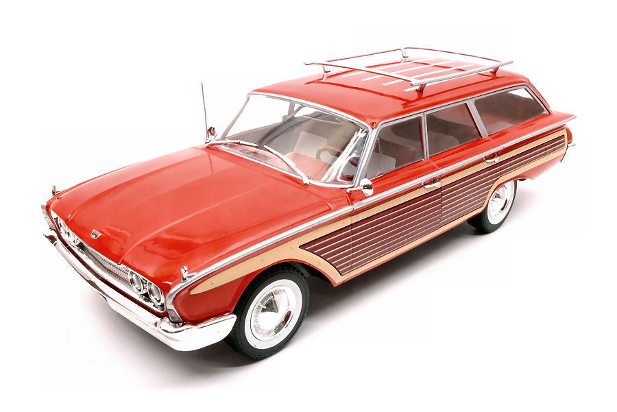 Ford Country Squire 1960 boisen rouge 1 18 Model modelvoituregroup   limite acheter