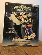 1997 Bandai Power Rangers In Space Deluxe Mega Voyager Complete Near Mint In Box