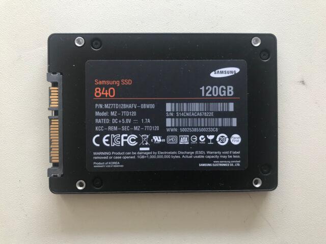 Samsung MZ-7TD120 SSD Drivers Download Free
