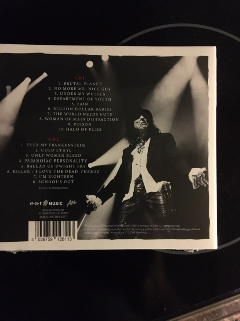 Alice Cooper : A paranormal evening 2 Cd, heavy, Stadig…