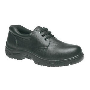 Grafters-M530A-Safety-Steel-Toe-Cap-Mens-Black-Leather-Shoes-UK6-12