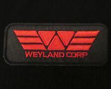 ALIEN MOVIE WEYLAND CORPORATION CORP LOGO COSTUME VELCRO® BRAND FASTENER PATCH