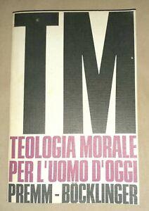 Teologia-Morale-per-l-039-Uomo-d-039-Oggi-Premm-Bocklinger-Edizioni-Paoline-1971