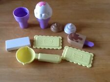 Vintage Playskool Hard To Find Magic Ice Cream Party Replacement Pieces