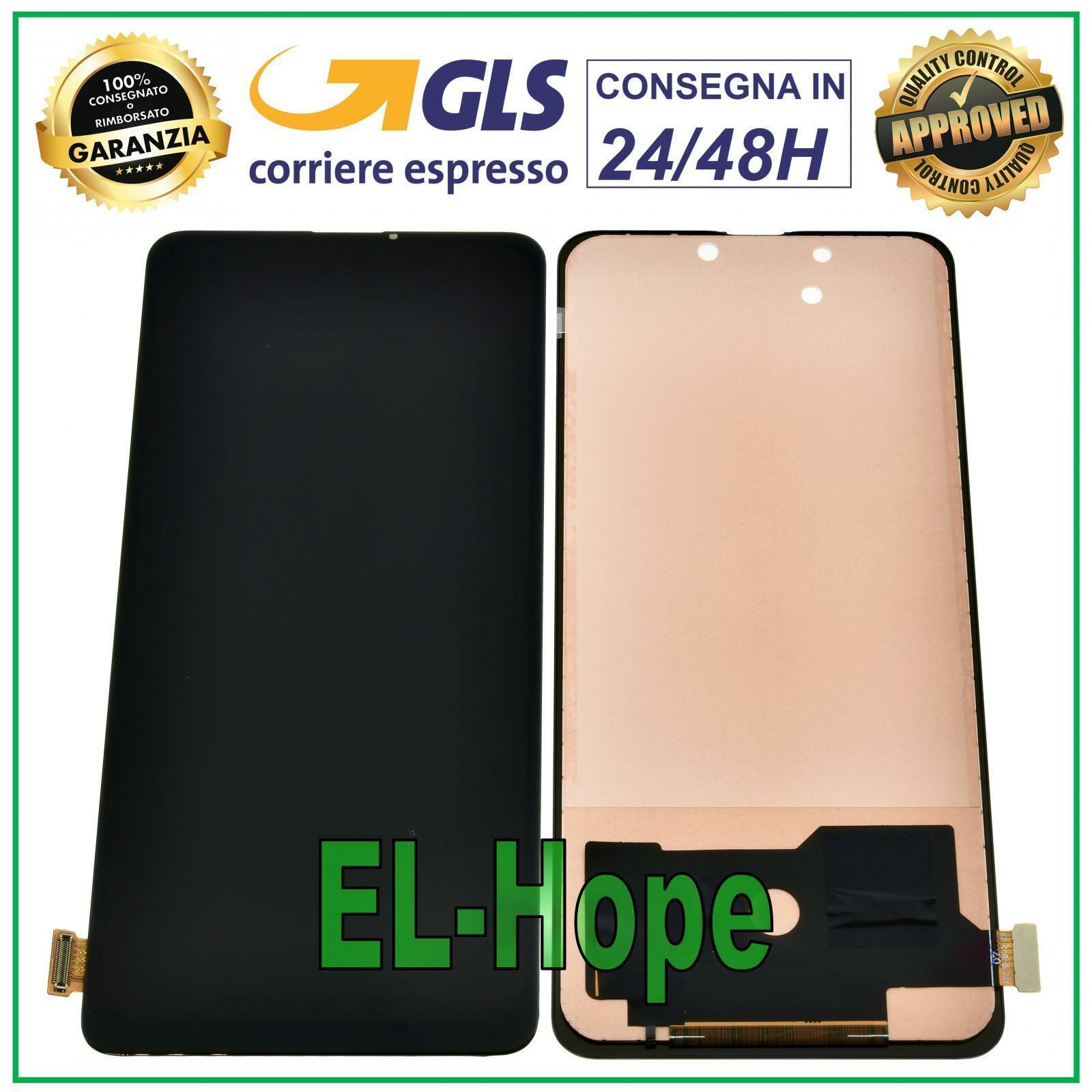 xiaomi: DISPLAY LCD XIAOMI MI 9T /9T PRO REDMI K20 /K20 pro M1903F10G TOUCH VETRO TFT