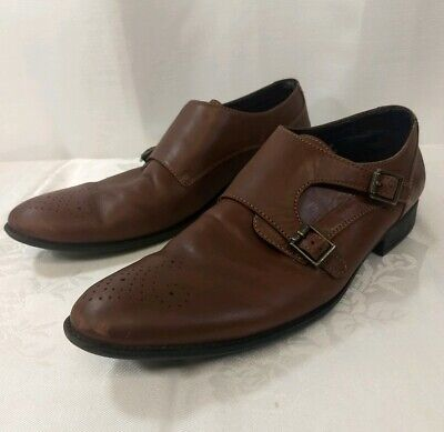 Men's Size 9 Double Strap Smooth