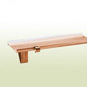 Dachrinne Rg400 Gutter Stark Laubschutz Kupferfarben F Fürs Dach