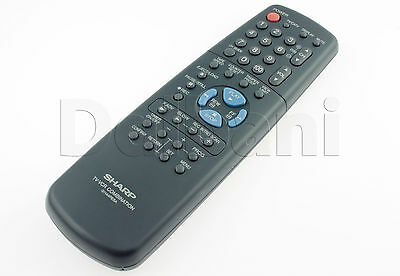 VCR Remote Control G1144PESA New Sharp 2-IN-1 TV