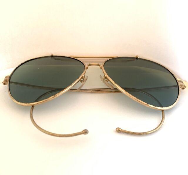 Vintage Pilot Mirror Lenses Classic Aviator Sunglasses