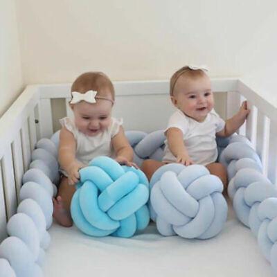 3M Baby Nestchen Kopfschutz Knotenkissen Bettschlange Farbe Babynestchen Sicher