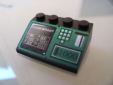 LEGO 3297px16 @@ Slope 33 3 x 4 with ATM Bank Machine Pattern @@ 4608